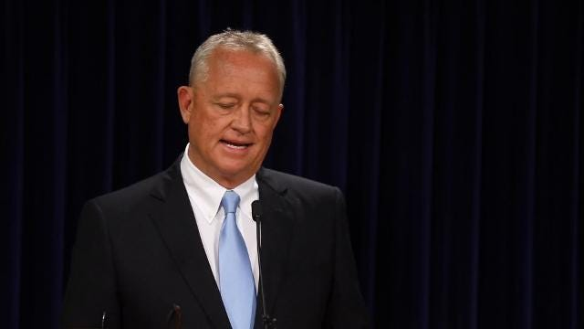 Joe Deters announced Tues., July 18, 2017, that he will not re-try Ray Tensing in the shooting death of Sam DuBose, an unarmed motorist. The previous two trials of the University of Cincinnati police officer ended in hung juries.
