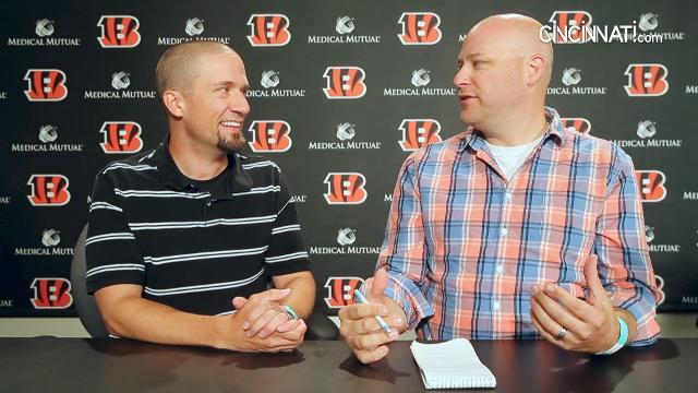 Day at Cincinnati Bengals camp, Aug. 5