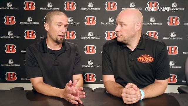 Day at Cincinnati Bengals camp, Aug. 8