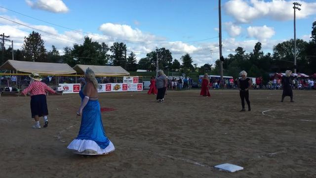 The Delhi Skirt Game recently celebrated its 40th year. The charity softball game features players in drag dressed as celebrities and popular characters. Proceeds go to Delhi Township families.