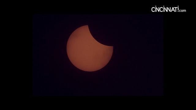 Cincinnati experiences the 2017 total solar eclipse