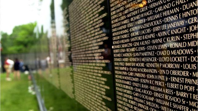 """The Moving Wall,"""" a traveling half-size rendition of the Vietnam Veterans Memorial in Washington, D.C., will be on display and open for viewing 24-hours daily. The event is sponsored by UAW Local 863"""