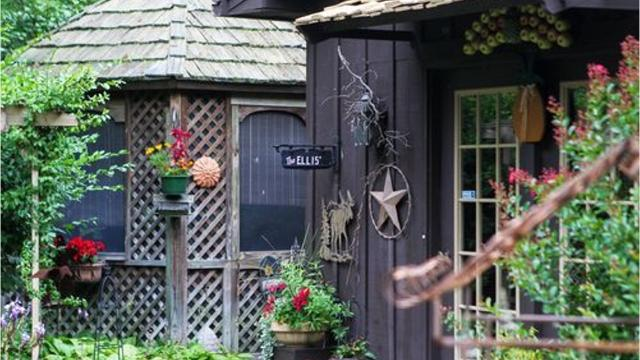 Margie and Bill Ellis has spent decades working on their home and gardens, which they've named Tree Gap, in Georgetown.
