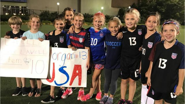 VIDEO: Young fans enjoy US WNT experience