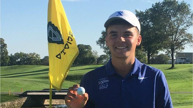 Unforgettable weekend of golf for St. Xavier's Zimmerman