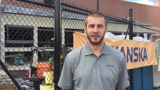 Former UC basketball player Zack Tobler