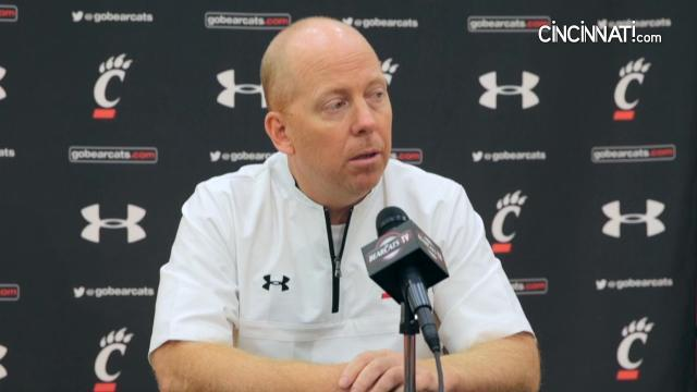 UC coach Mick Cronin on the 2017-18 season