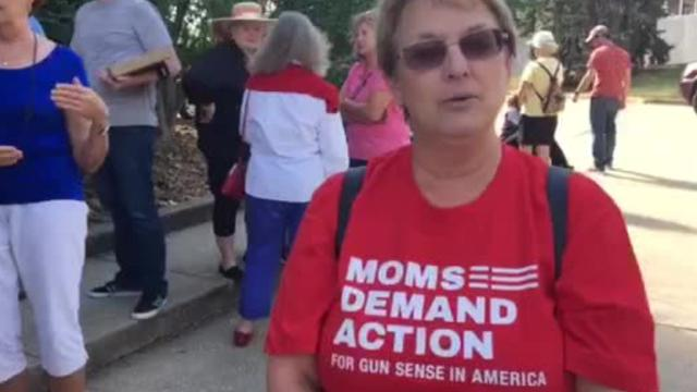 An online petition demands U.S. Senate Majority Leader Mitch McConnell to bring gun control legislation to the Senate floor. It was delivered to McConnell's Northern Kentucky office Oct. 6.
