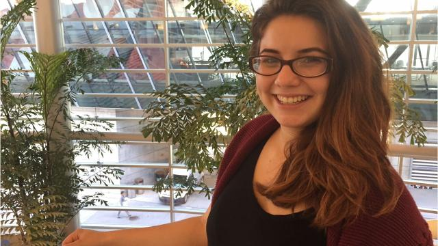 Laura Mendez, a University of Cincinnati senior, was one of about 150 young immigrants in the DACA program invited Oct. 4 to speak with lawmakers in Washington, D.C., about the need for Dream Act legislation.