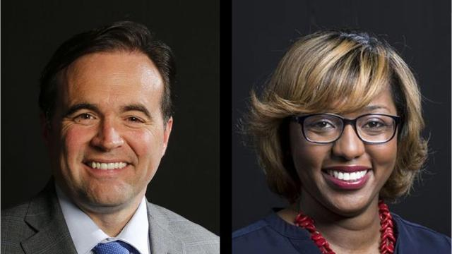 Mayor John Cranley is running for re-election against Councilwoman Yvette Simpson