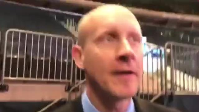 Xavier Musketeers head coach Chris Mack discussed the 2017-18 season during Big East Conference Media Day at Madison Square Garden.