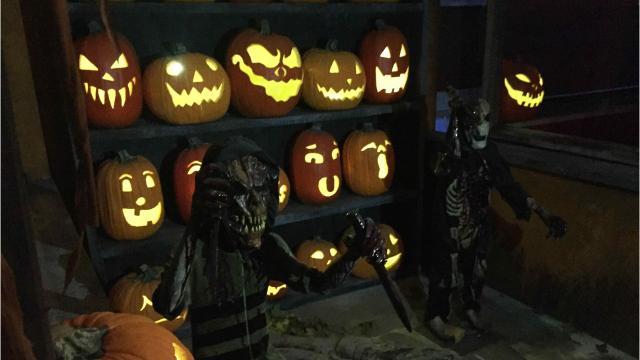 Halloween celebrations through history.