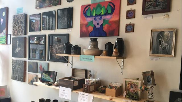 The INKAA pop-up shop, Lux Gallery and Gift Shop, is open in Covington through Dec. 20.