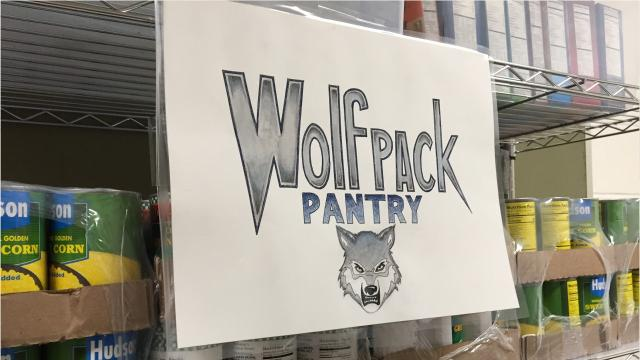 The Wolf Pack Pantry, housed in West Clermont Middle School, holds its grand opening Nov. 29. The pantry is new and is made possible by a grant from the Freestore Foodbank.