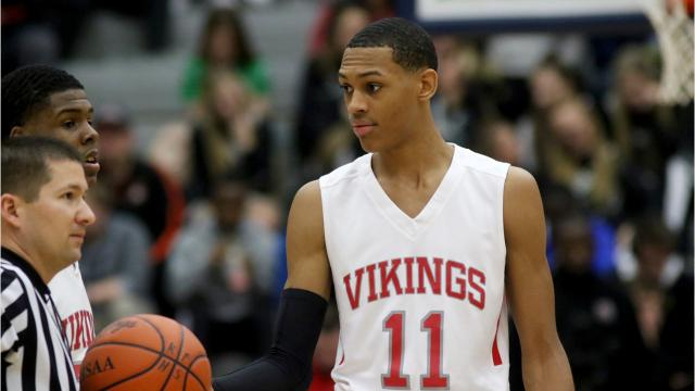 f7e41828664a VIDEO  Darius Bazley named McDonald s All-American