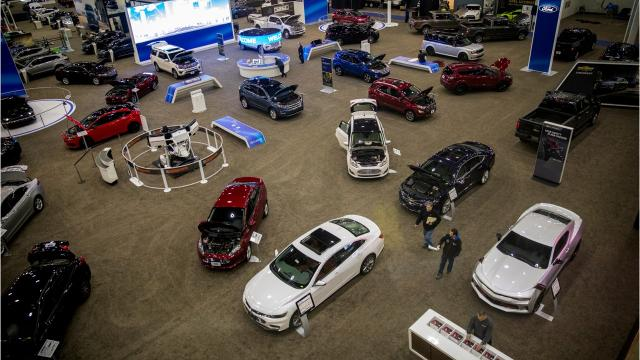 More than 400 vehicles are on display at the Duke Energy Convention Center for the Cincinnati Auto Expo from Wednesday, Feb. 7-Sunday, Feb. 11.