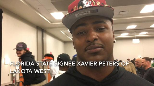 VIDEO What does Xavier Peters bring to Florida State?