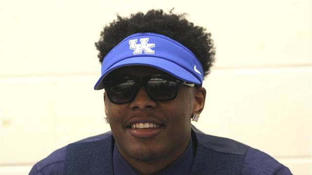 VIDEO: Chris Oats on signing with Kentucky