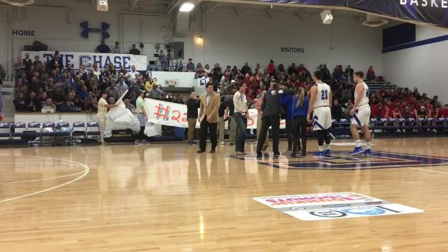 Sights & Sounds: CovCath basketball senior night