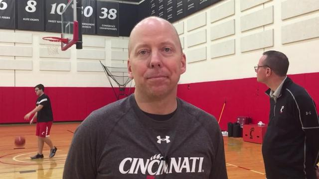 Watch: UC's Cronin on trip to SMU and its tough crowd