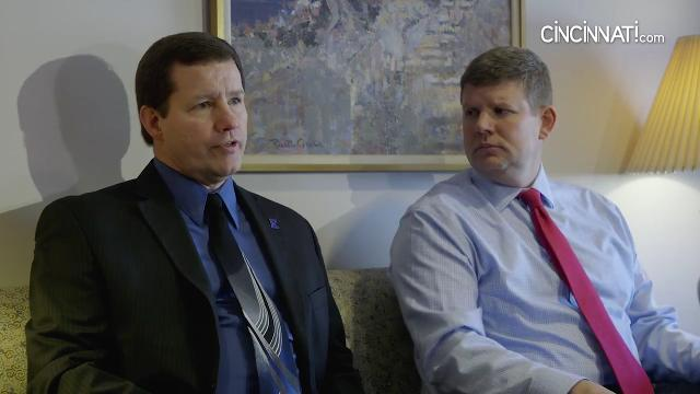 Principals fro Elder and St. Xavier high schools sit down and talk about recent events.