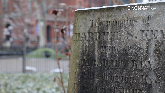 A mysterious Washington Park tombstone tells a remarkable love story. The Enquirer/Kareem Elgazzar