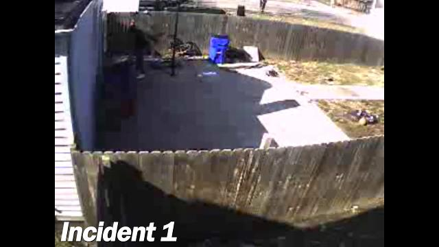 The Butler County Sheriff's Office Dog Wardens investigated a report of serious animal abuse caught on video surveillance. The episode was recorded by an anonymous citizen and given to the authorities.