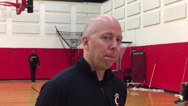UC's Cronin discusses tough challenge at Houston/