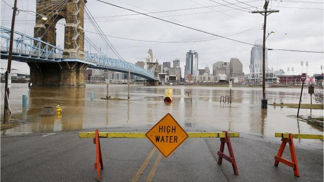 What's Cincy's most flood-prone month? It's coming soon