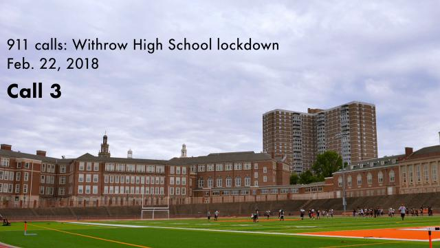 911 calls prompted Withrow High School lockdown