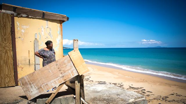 Hurricane Maria was the strongest when it made landfall in Yabucoa, Puerto Rico. Nearly six months later, more than 65% of residents there are still without power.