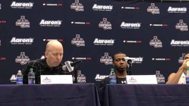 Watch: UC's Cronin, Clark, Washington recap win over Memphis