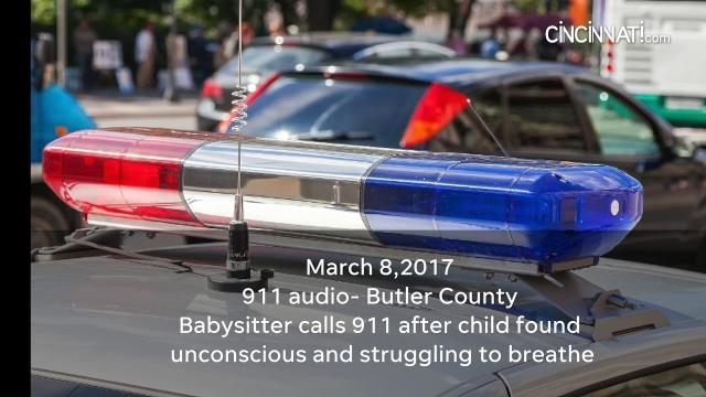 911 Audio: Babysitter says child is unconscious, struggling to breathe