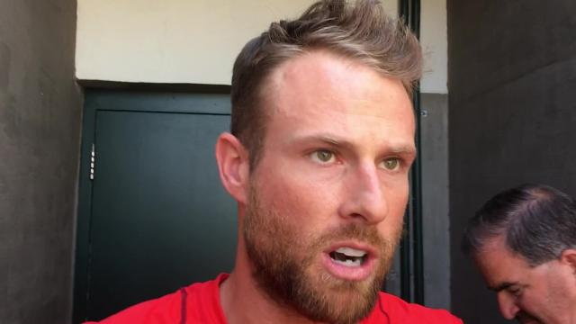 Former Red Zack Cozart