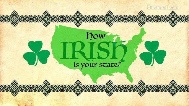 Irish immigrants poured into the United States in the mid-1800s, driven from their homeland by a devastating potato famine. An analysis of U.S. Census estimates shows where their descendants are today.