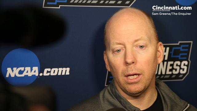 Bearcats head coach Mick Cronin talks about Nevada matchups ahead of NCAA Tournament game