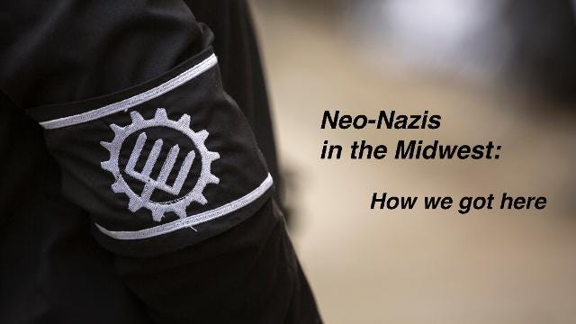 Neo-Nazis want a whites only state. We explore why they're targeting the Cincinnati region.
