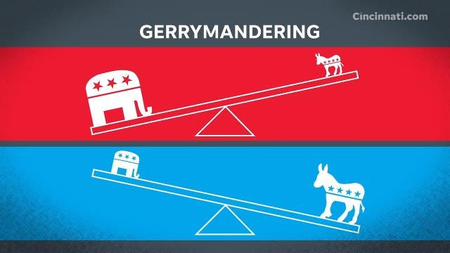 What is gerrymandering, and where did the term originate? Ohio Issue 1, on the ballot May 8, is a bipartisan attempt to curb gerrymandering in Ohio.