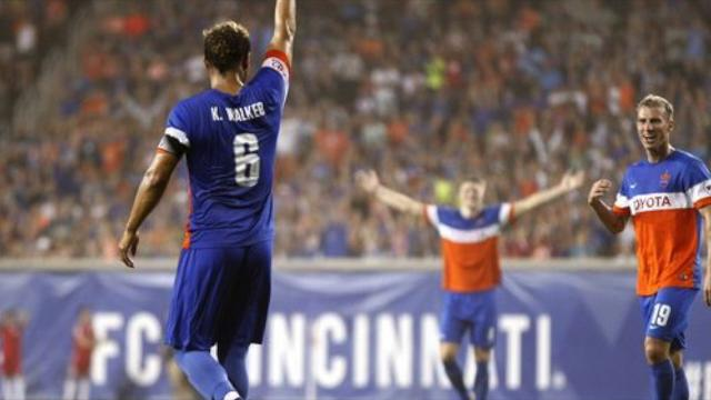 FC Cincinnati wins more matches when Kenney Walker starts