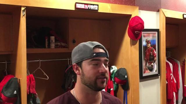 VIDEO: Reds' Price, Finnegan on rocky start