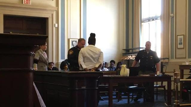 Markeisha Elliot, 26, is charged with murder in the stabbing death of 21-year-old Shawnice Johnson. Opening statements and testimony took place Tuesday in Elliot's trial in Hamilton County Common Pleas Court.