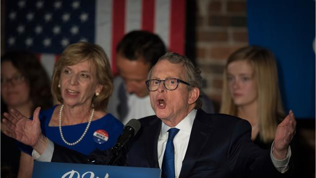 Democrats are hoping to retake Congress in 2018. Will they retake the governor's office in Ohio, too? Ohio Attorney General Mike DeWine, the GOP nominee for governor, says he can withstand a 'blue wave.'