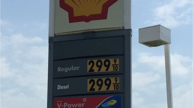 The cost of gas went up 20 cents overnight at two service stations in Florence.
