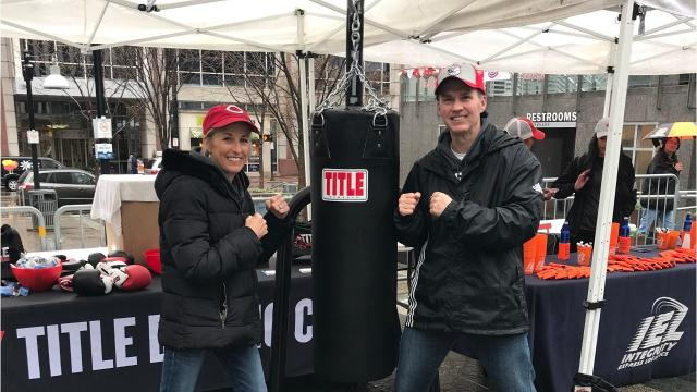 Husband-wife duo hopes help Cincinnati professionals and residents meet their fitness goals by opening a TITLE Boxing Club Downtown.