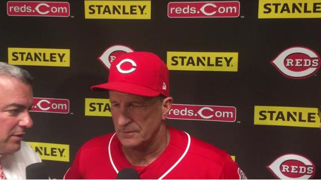 Reds Interim Manager Jim Riggleman talked about the Reds' 6-1 loss to the Chicago Cubs on Sunday, Tyler Mahle giving up three homers and the offensive struggles in the four-game series.