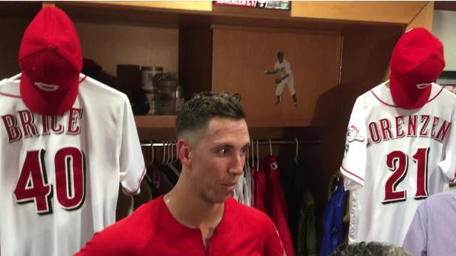 Reds pitcher Michael Lorenzen discussed his pending return from the disabled list after suffering a shoulder injury and earning a spot in the bullpen. Interim Manager Jim Riggleman said Lorenzen would likely return to the Reds on Wednesday.