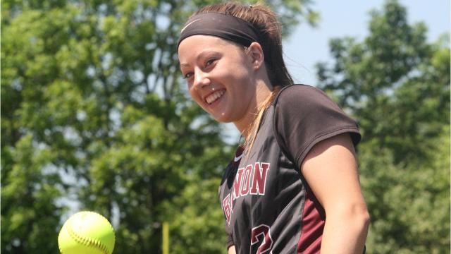 Lebanon's Grace Gressly homered twice and drove in five runs in the Warriors' 6-3 win over Lakota East in a Division I regional semifinal on Wednesday, May 23, 2018, at Centerville
