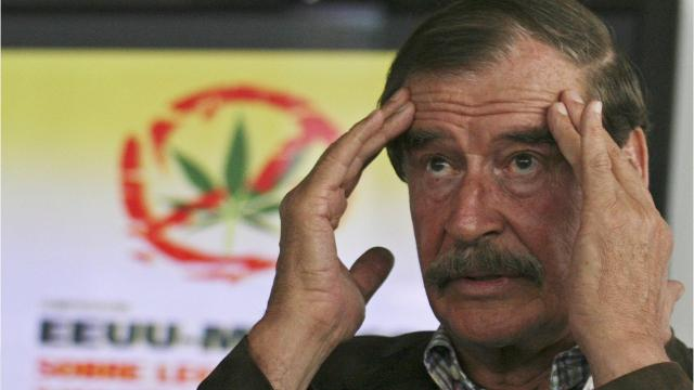 """Former Mexican President Vicente Fox has joined the board of """"High Times."""" 'High Times' describes itself as """"the leading source for daily cannabis news."""" Fox told the Associated Press that legalization of cannabis would help break the power of drug cartels. """"Moving out of a crime activity, a criminal activity that causes death and blood on the streets, into a business, an industry, that is proving every day that it is sustainable. To me, marijuana, cannabis, it's only the first steps. At the very end, these principles that I spoke about apply to all drugs."""" Vincente Fox"""
