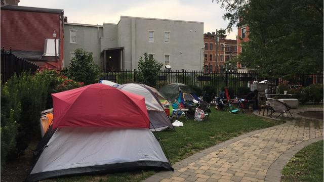 Prosecutor Joe Deters said Wednesday that the homeless camp, now in Over-the-Rhine, has until noon Thursday, Aug. 16, to disband, or residents there will face arrest.