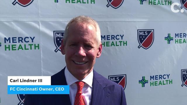 huge selection of a7cef 160b6 FC Cincinnati breaks ground on Mercy Health Training Center